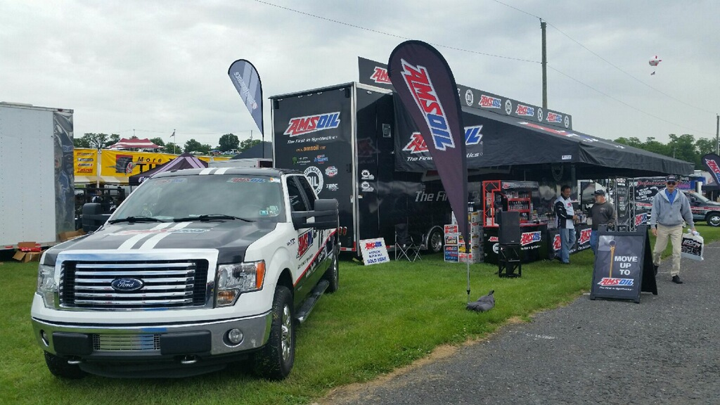 AMSOIL Booth