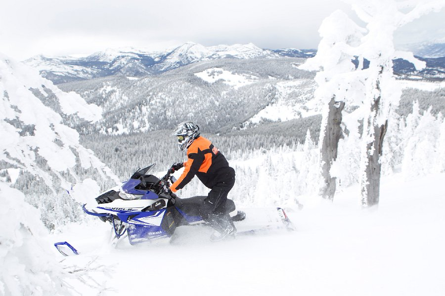 Viper MTX 162 Snowmobile