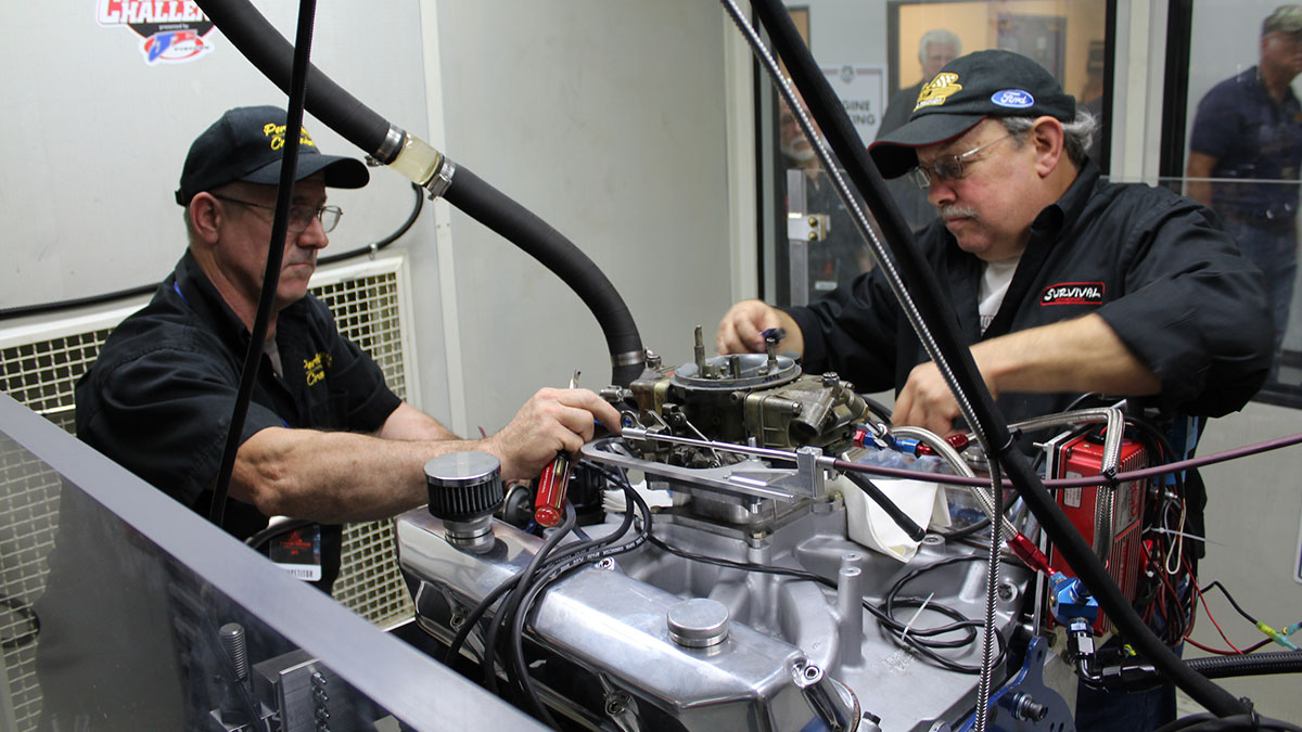 Building engine with Assembly Lube